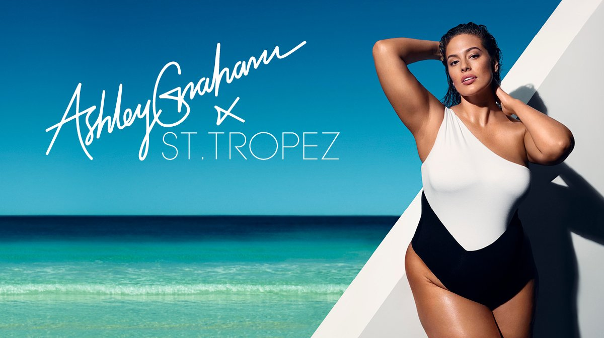 Ashley Graham is our new Global Brand Ambassador!
