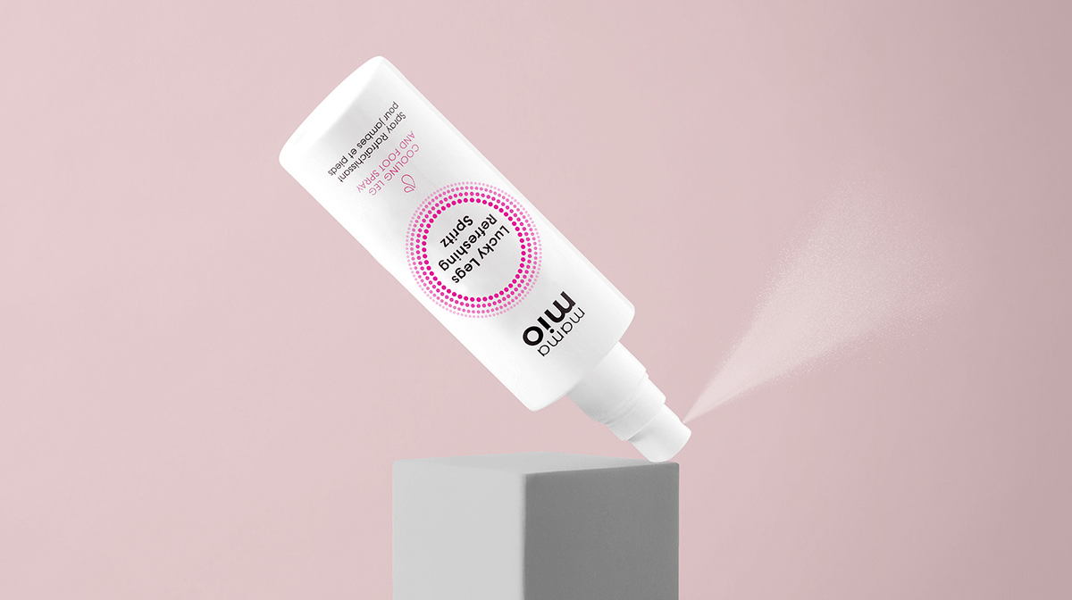 How To Use Our New Lucky Legs Cooling Spray To Soothe Swollen Pins