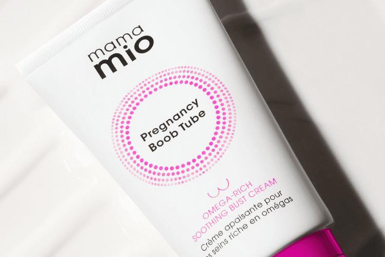 Image of mama mio pregnancy boob tube on white background