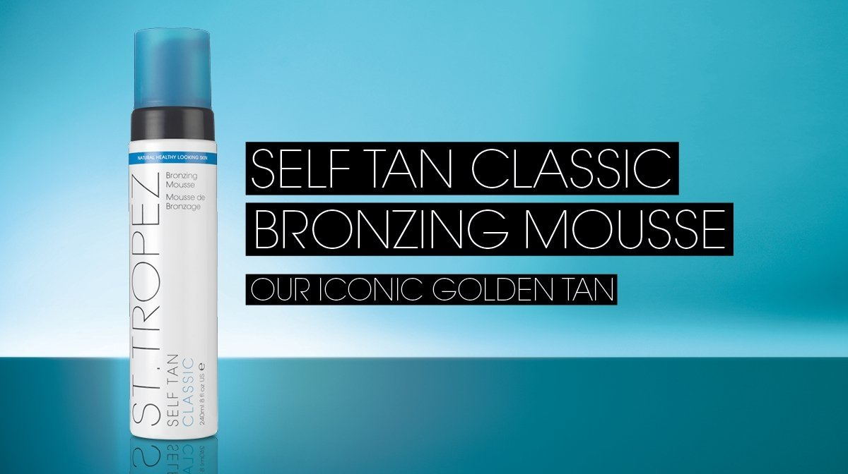 How To Tan | St.Tropez Classic Mousse Self Tan