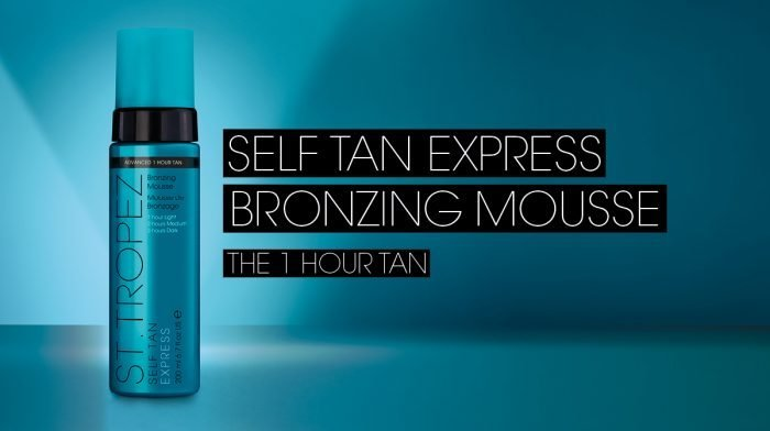 How To Tan | St.Tropez Express Mousse