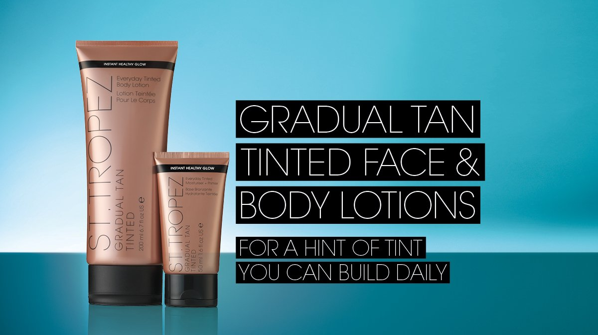 How To Apply Gradual Tan To Your Body & Face