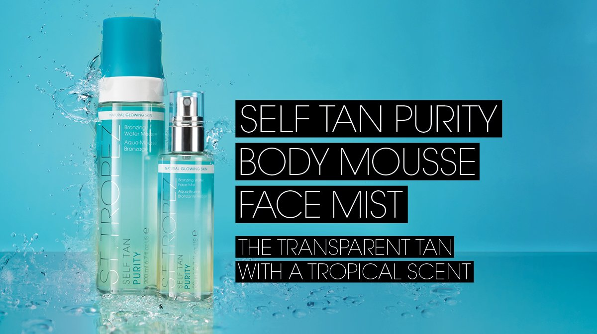 How To Tan | St.Tropez Purity Mousse & Mist