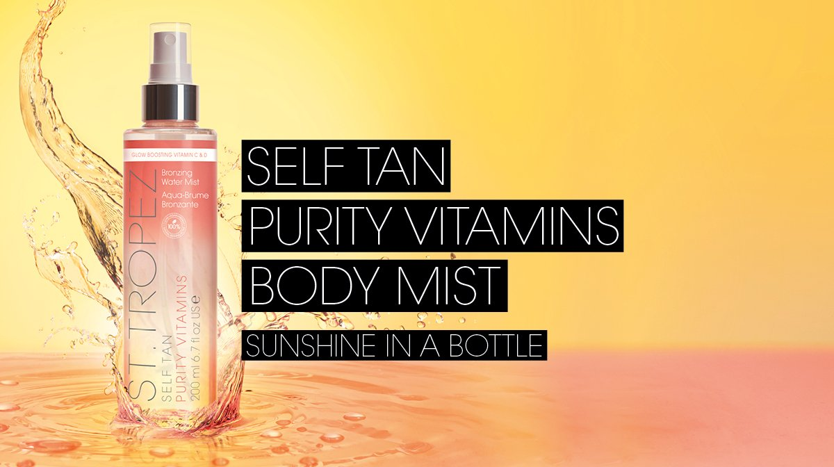 How To Tan | Self Tan Purity Vitamins Tanning Mist