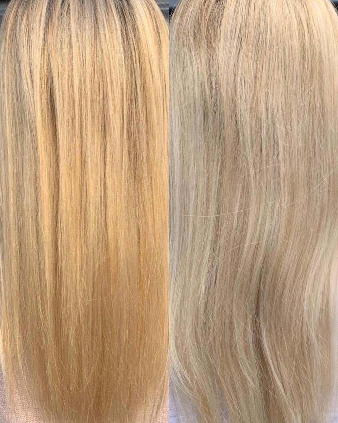 Toned Blonde Hair