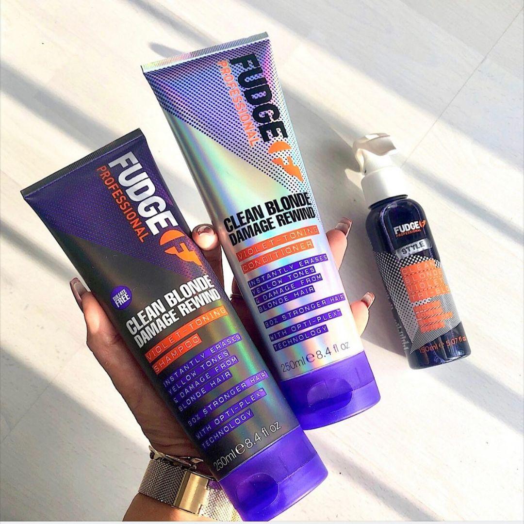 Fudge Purple Shampoo Trio
