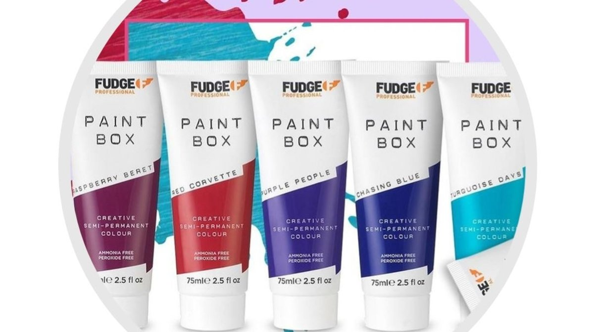 Go Bold or Go Home: Fudge Paintbox