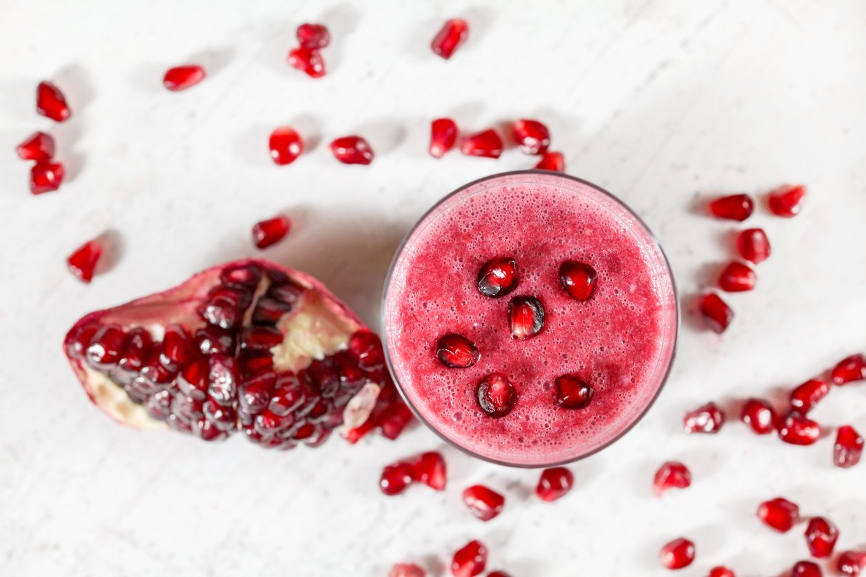 Pomegranate Berry Smoothie Recipe
