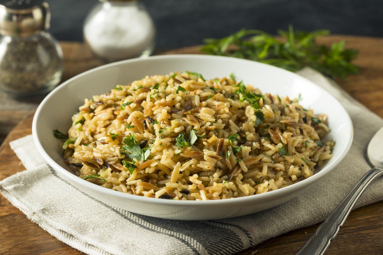 Savory Homemade Rice Pilaf