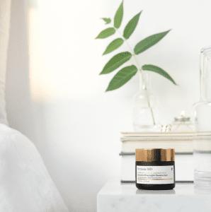 moisturising tub on a shelf