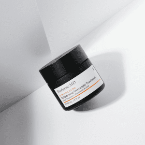 overnight treatment tub on a white backdrop