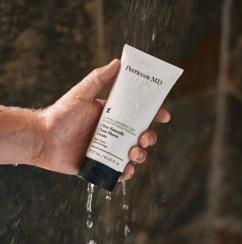 Shaving Tube in Shower