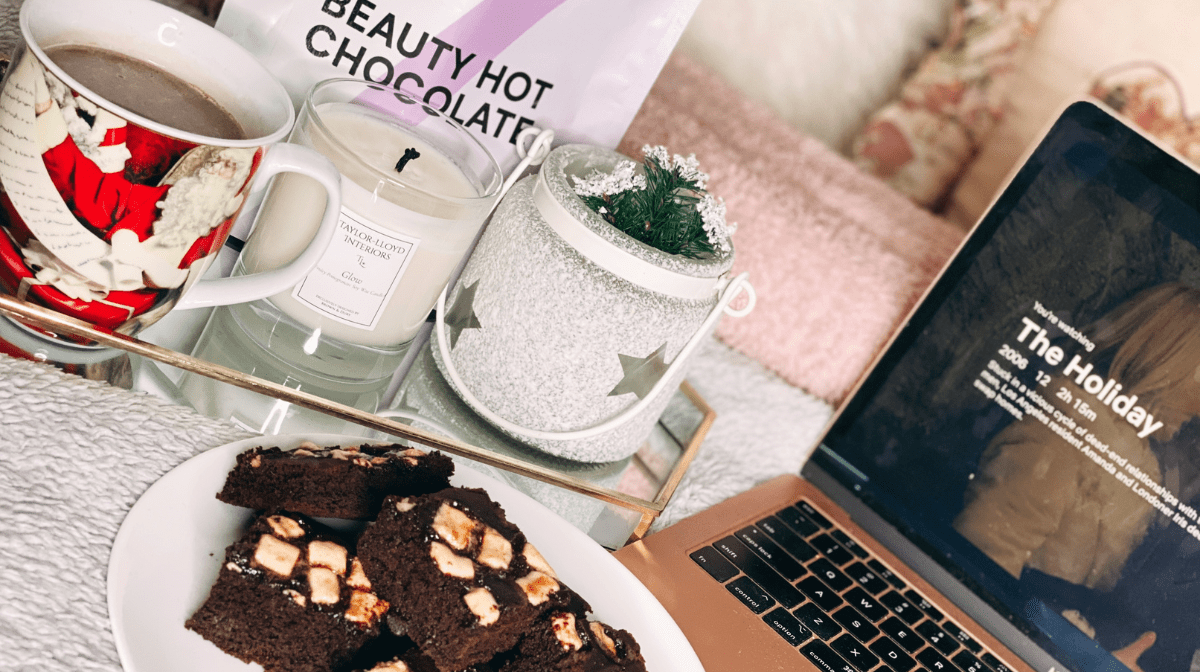 Beauty Hot Chocolate Brownies