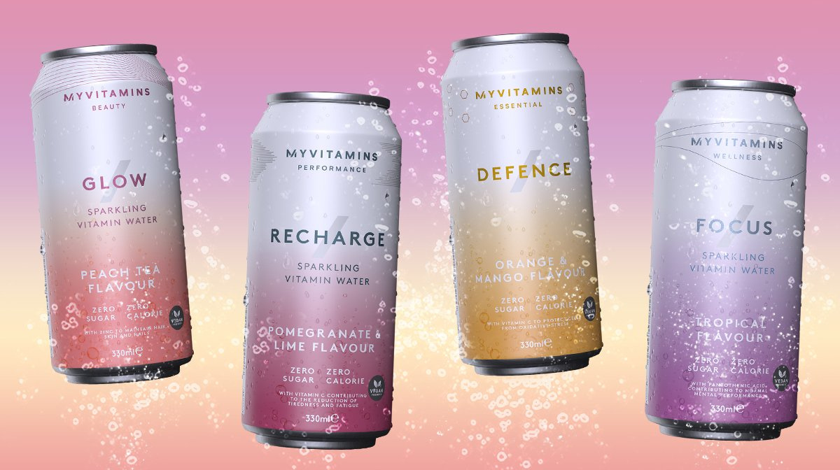 Our Sparkling Vitamin Waters