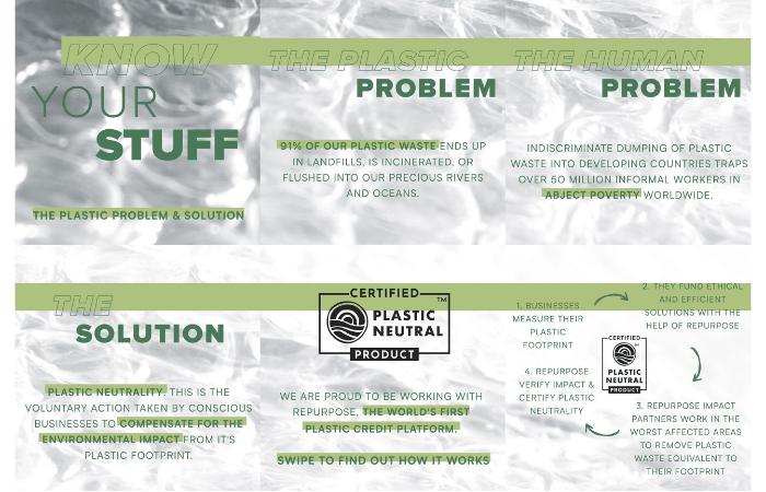 Plastic Pollution infographic