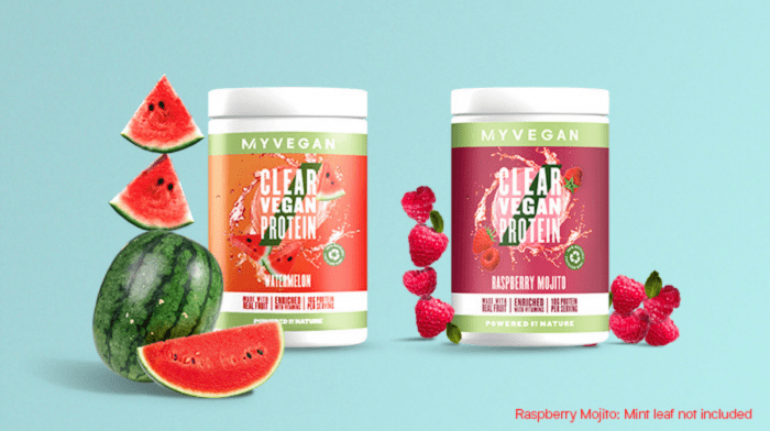 NEW Clear Vegan Protein Flavours