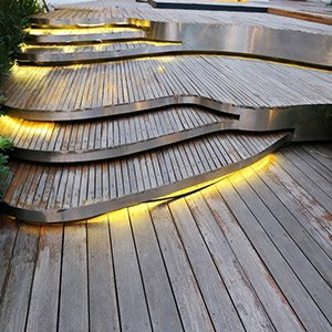 Lighting steps