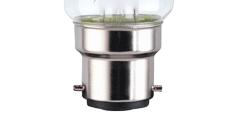 B22 bayonet light bulb cap fitting