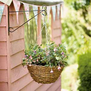 Step 3 - hanging baskets
