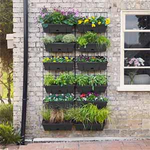 Step 3 - vertical planting
