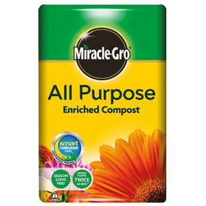 MiracleGro compost