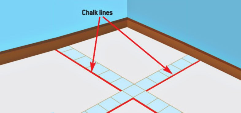 'loose lay' tiles along these lines to see how the borders appear