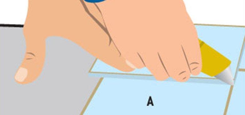 "score lower tile against ""loose lain"" tile on top to make a border tile"