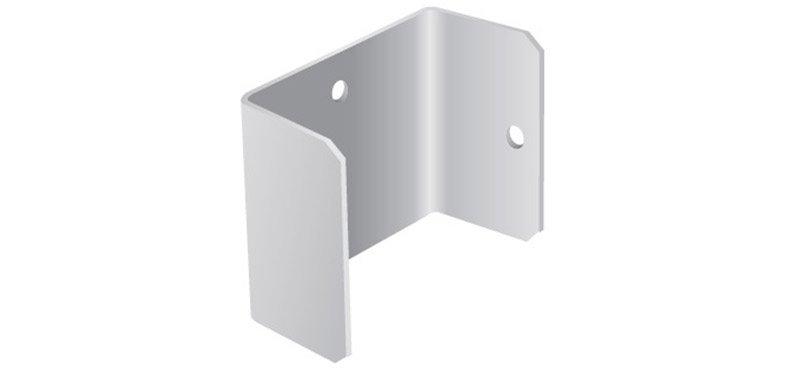 U-shaped post clip
