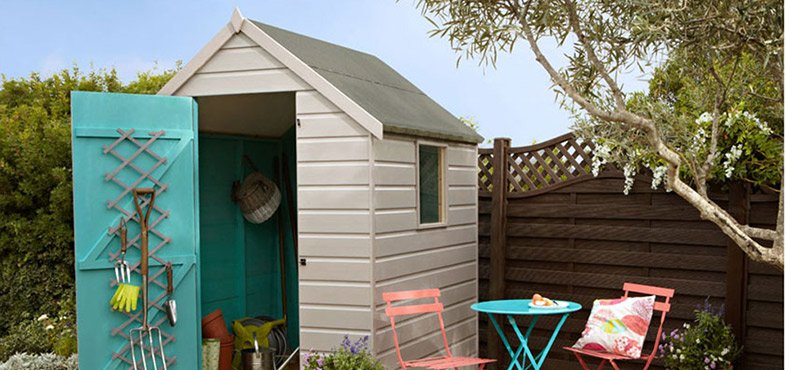Paint your shed