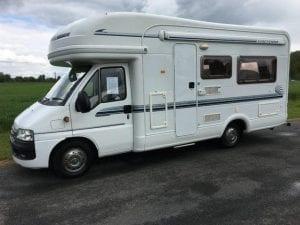 Coachbuilt caravan