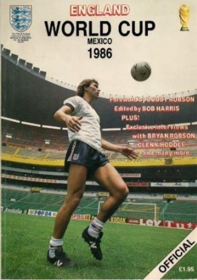 1966 Football World Cup Programme