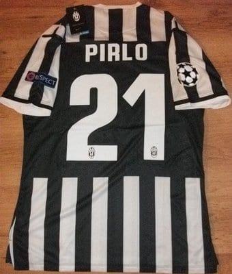 Juventus football shirt