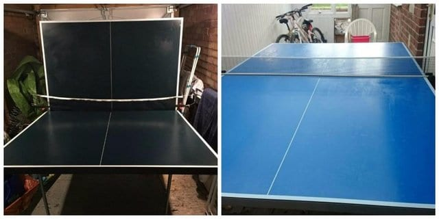 Second hand table tennis tables
