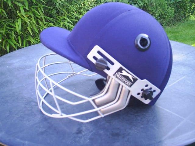 Second hand cricket helmet