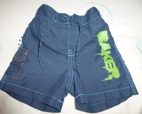Second hand swim shorts