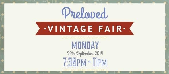 Preloved vintage fair