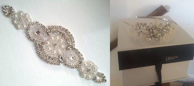 Second hand wedding accessories