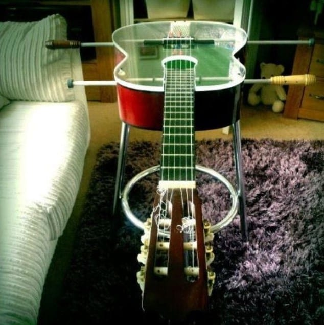 Guitar Football Table