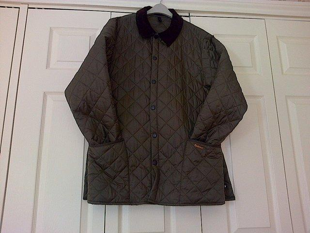 second hand men's barbour coat
