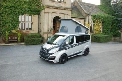Ford M Sport Van Roof Up