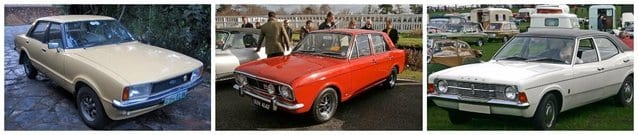 1970's Ford Cortina Cars