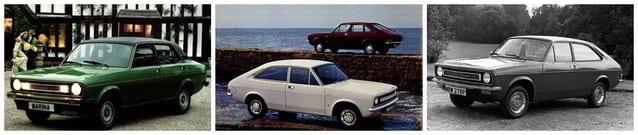 1970's morris marina cars