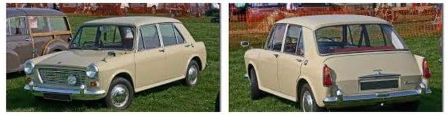 1970's Austin Morris cars
