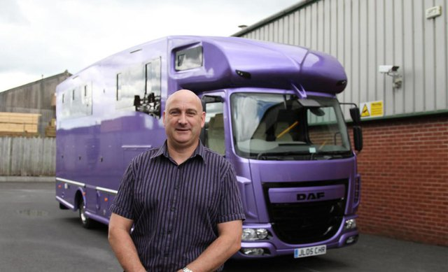 Member of the Month | Kevin Parker Horseboxes