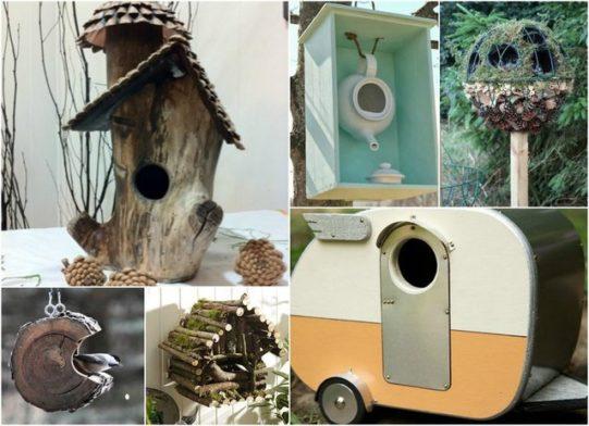 DIY Bird House Inspiration