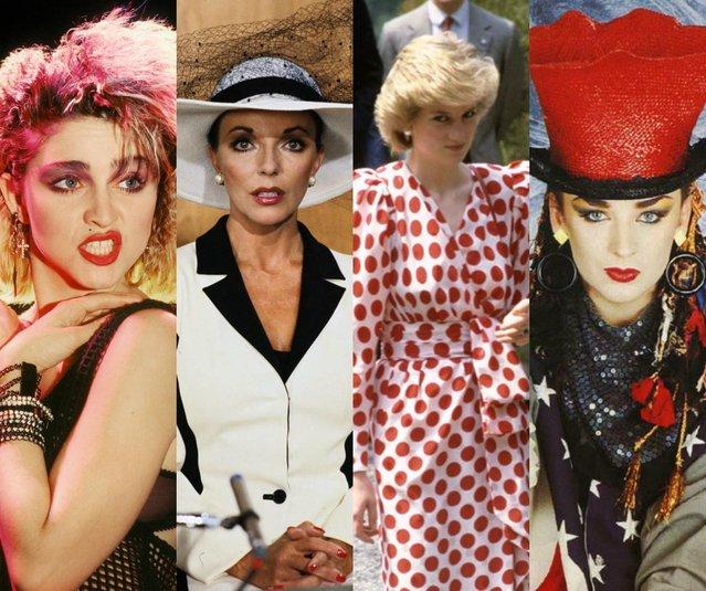 Trends Through the Decades: 1980's Fashion