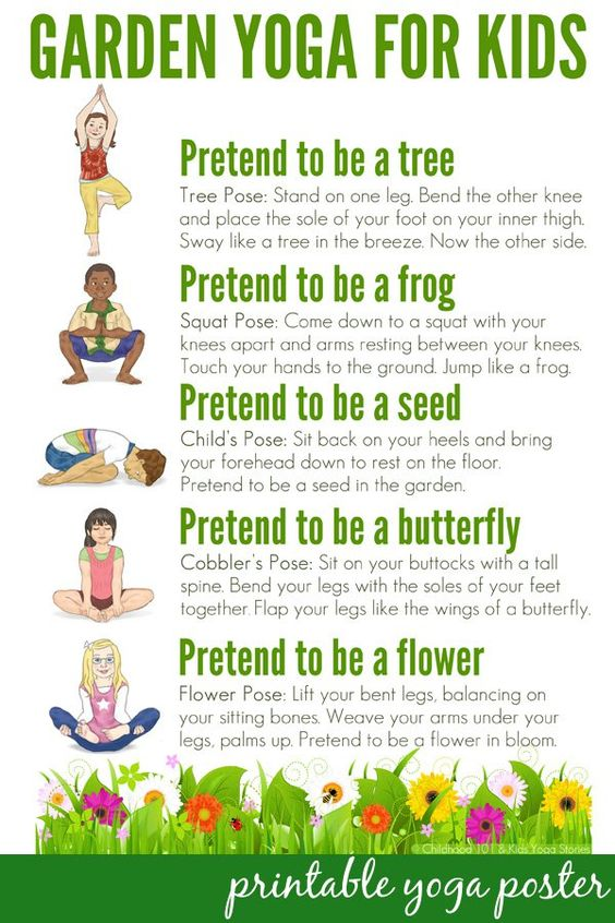 5. yoga for kids