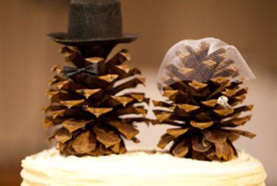 2. pinecones