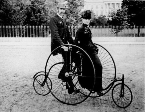 National Bike Week: The Evolution of Bikes!