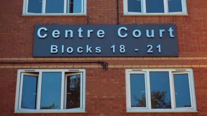 Visiting Centre Court - The Green Community